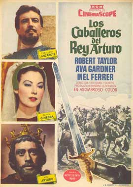 Knights of the Round Table - 27 x 40 Movie Poster - Spanish Style A