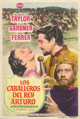 Knights of the Round Table - 27 x 40 Movie Poster - Spanish Style B