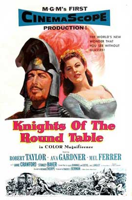 Knights of the Round Table - 27 x 40 Movie Poster - Style A