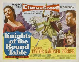 Knights of the Round Table - 11 x 14 Movie Poster - Style A