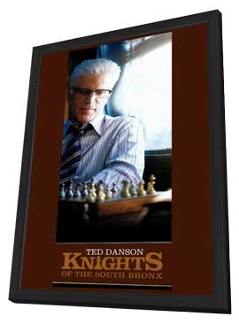 Knights of the South Bronx - 11 x 17 Movie Poster - Style A - in Deluxe Wood Frame