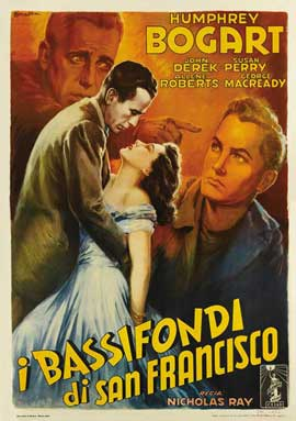 Knock on Any Door - 27 x 40 Movie Poster - Italian Style A