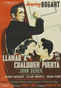 Knock on Any Door - 11 x 17 Movie Poster - Spanish Style D