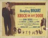 Knock on Any Door - 11 x 14 Movie Poster - Style A