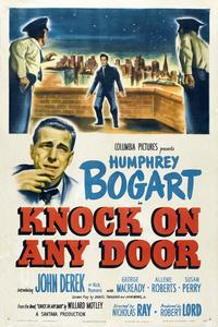 Knock on Any Door - 11 x 17 Movie Poster - Style H