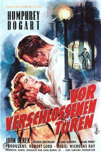 Knock on Any Door - 11 x 17 Movie Poster - German Style B