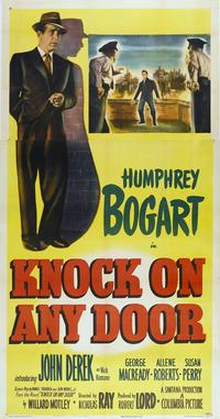 Knock on Any Door - 14 x 36 Movie Poster - Insert Style B