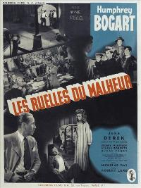 Knock on Any Door - 11 x 17 Movie Poster - French Style A