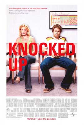 Knocked Up - 27 x 40 Movie Poster - Style B