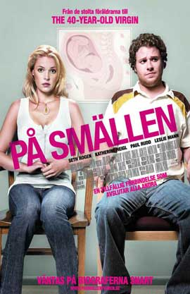 Knocked Up - 11 x 17 Movie Poster - Swedish Style A
