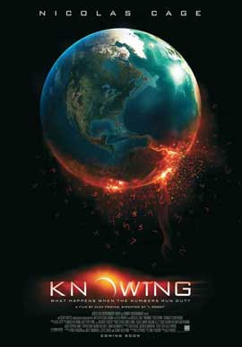 Knowing - 27 x 40 Movie Poster - Style A