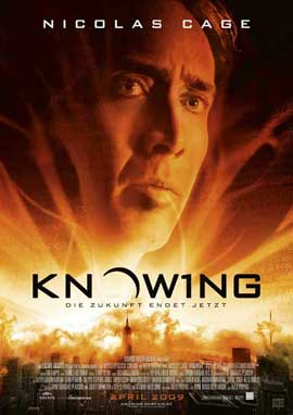 Knowing - 27 x 40 Movie Poster - German Style A