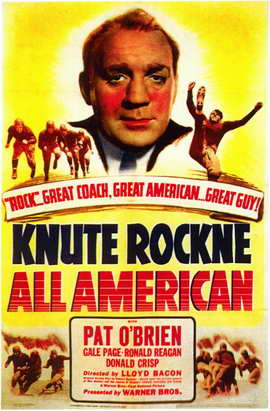 Knute Rockne All American - 11 x 17 Movie Poster - Style A