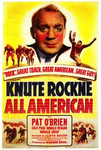 Knute Rockne All American - 27 x 40 Movie Poster - Style A