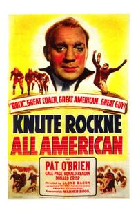Knute Rockne All American - 43 x 62 Movie Poster - Bus Shelter Style A