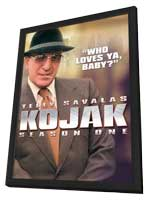 Kojak - 11 x 17 Movie Poster - Style A - in Deluxe Wood Frame
