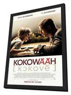 Kokowaah - 11 x 17 Movie Poster - German Style A - in Deluxe Wood Frame