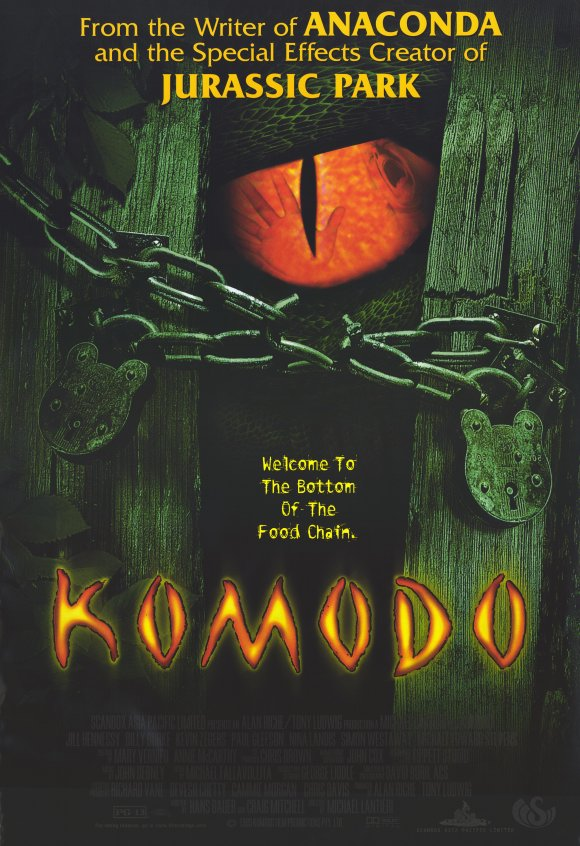 Komodo Island Movie 1999 Komodo Movie Posters