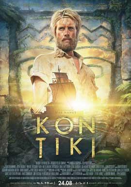 Kon-Tiki - 27 x 40 Movie Poster - Norwegian Style A