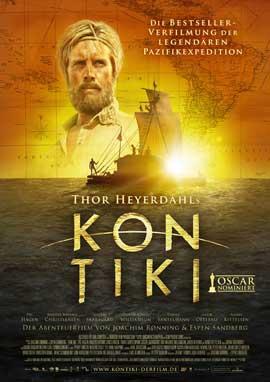 Kon-Tiki - 11 x 17 Movie Poster - German Style A