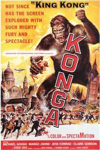 Konga - 11 x 17 Movie Poster - Style A