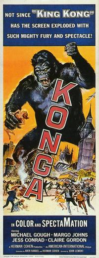 Konga - 11 x 17 Movie Poster - Style B
