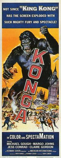 Konga - 27 x 40 Movie Poster - Style B