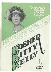 Kosher Kitty Kelly (Broadway) - 14 x 22 Poster - Style A