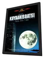 Koyaanisqatsi - 11 x 17 Movie Poster - Style A - in Deluxe Wood Frame