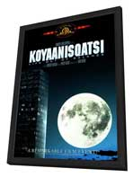 Koyaanisqatsi - 27 x 40 Movie Poster - Style A - in Deluxe Wood Frame