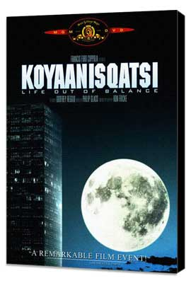Koyaanisqatsi - 27 x 40 Movie Poster - Style A - Museum Wrapped Canvas