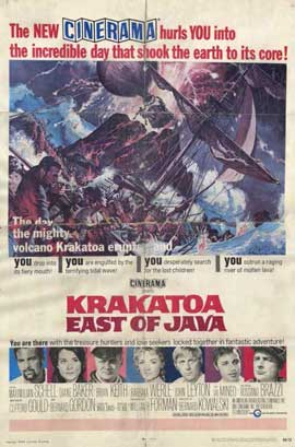 Krakatoa, East of Java - 11 x 17 Movie Poster - Style A