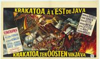 Krakatoa, East of Java - 11 x 17 Movie Poster - Belgian Style A