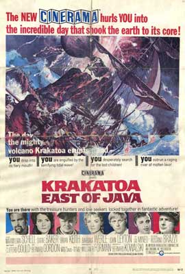 Krakatoa, East of Java - 27 x 40 Movie Poster - Style A