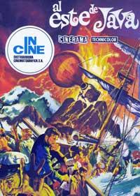 Krakatoa, East of Java - 11 x 17 Movie Poster - Spanish Style A