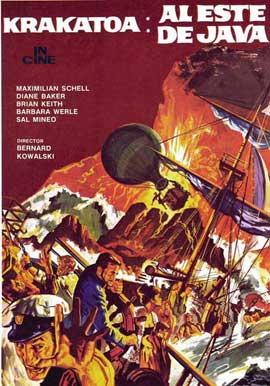 Krakatoa, East of Java - 11 x 17 Movie Poster - Spanish Style C