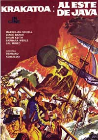 Krakatoa, East of Java - 27 x 40 Movie Poster - Spanish Style C