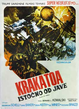 Krakatoa: East of Java - 11 x 17 Movie Poster - German Style A