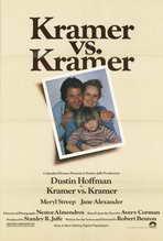 Kramer vs. Kramer - 27 x 40 Movie Poster - Style A