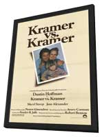 Kramer vs. Kramer - 27 x 40 Movie Poster - Style A - in Deluxe Wood Frame