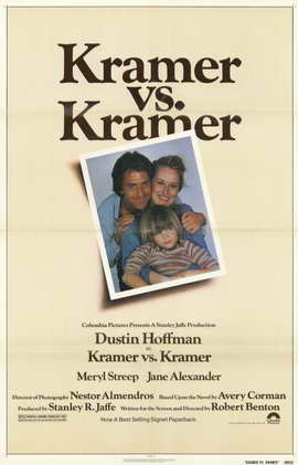 Kramer vs. Kramer - 11 x 17 Movie Poster - Style A