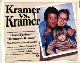 Kramer vs. Kramer - 22 x 28 Movie Poster - Half Sheet Style A