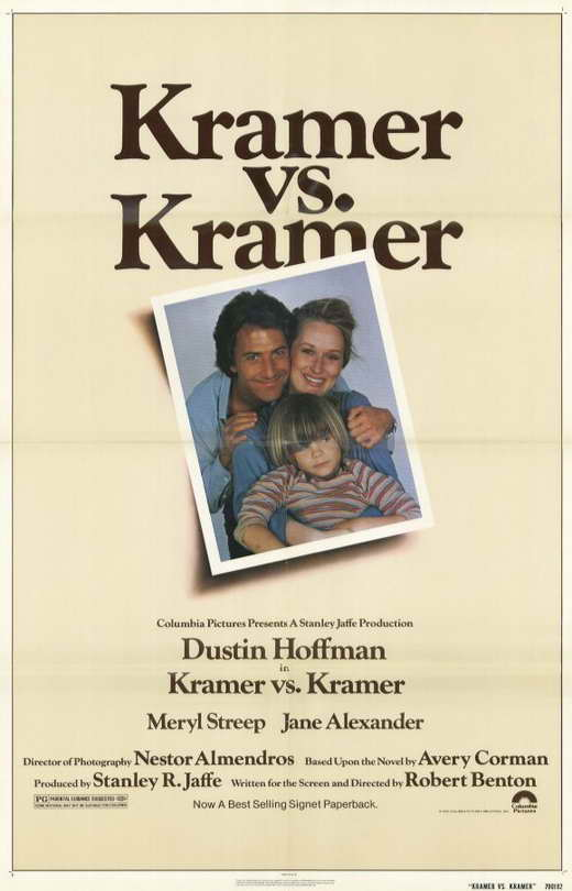 Kramer vs. Kramer Movie Posters From Movie Poster Shop