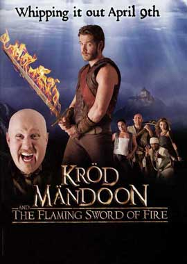 Krod Mandoon and the Flaming Sword of Fire (TV) - 11 x 17 TV Poster - Style A