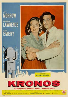 Kronos - 11 x 17 Movie Poster - Italian Style A