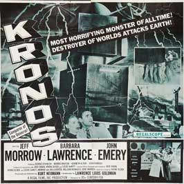 Kronos - 40 x 40 - Movie Poster - Style A