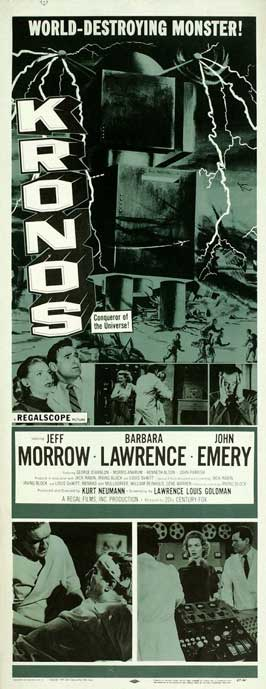 Kronos - 14 x 36 Movie Poster - Insert Style A