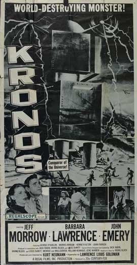 Kronos - 11 x 17 Movie Poster - Style B