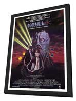 Krull - 27 x 40 Movie Poster - Style A - in Deluxe Wood Frame