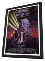 Krull - 11 x 17 Movie Poster - Style A - in Deluxe Wood Frame